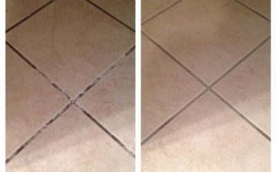 Steam Cleaning Grout so it is Really Clean