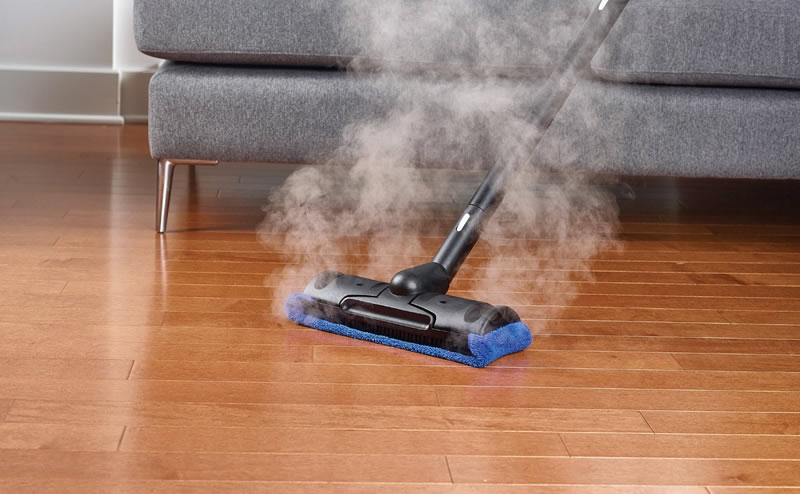Attractive Sealed Hardwood Floors And Steam Cleaning Are A Great Combination